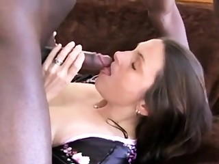 Wife goes black space fully hubby films